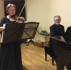 Concert Season for the Old and Infirm with Ivetta Viatet (Russia), Violin