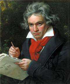 L.V.Beethoven-Photo:Wikipedia