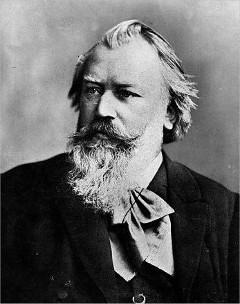 Johannes Brahms-Photo:Wikipedia