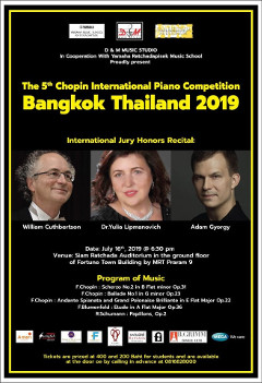 Thailand International Chopin Competition 2019